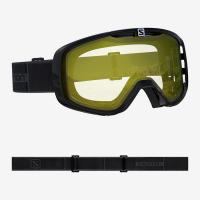 маска Salomon AKSIUM ACCESS Blk/Lowlight YELLOW