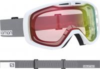 маска Salomon AKSIUM PHOTO WHITE White/Grey